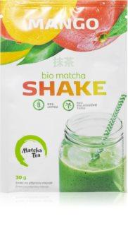 Matcha Tea Shake BIO prášek na přípravu nápoje se zeleným čajem příchuť mango