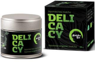 Matcha Tea Delicacy BIO zelený čaj v prášku