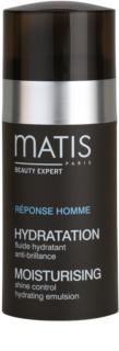 MATIS Paris Réponse Homme Shine Control Hydrating Emulsion увлажняющая эмульсия для мужчин