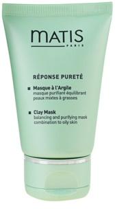 MATIS Paris Réponse Pureté Μάσκα καθαρισμού για λιπαρή επιδερμίδα