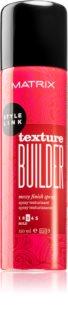 Matrix Style Link Texture Builder Haarspray  voor een MessyLook