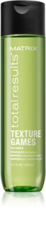 Matrix Total Results Texture Games Stylingschampo med polymerer