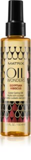 Matrix Oil Wonders Egyptian Hibiscus huile traitante protection de couleur