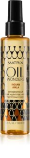Matrix Oil Wonders Indian Amla olio rigenerante per capelli brillanti e morbidi