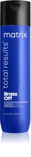 Matrix Total Results Brass Off Color Obssesed Shampoo to Neutralize Brassy Tones