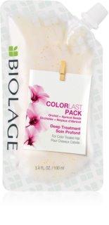 Biolage Essentials ColorLast глубоко очищающая маска для окрашенных волос