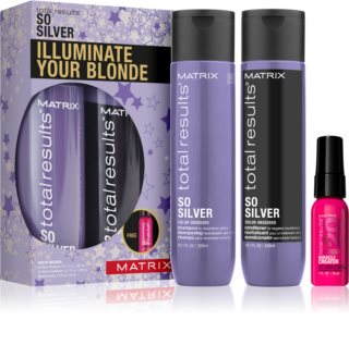 Matrix Total Results So Silver confezione regalo I. (per capelli biondi)
