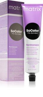Matrix SoColor Pre-Bonded Extra Coverage перманентна фарба для волосся