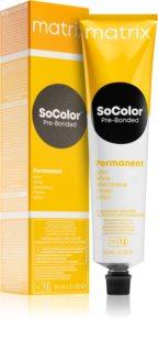 Matrix SoColor Pre-Bonded Reflect trwały kolor włosów
