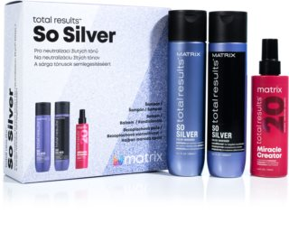Matrix Total Results So Silver darčeková sada (pre blond vlasy)