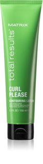 Matrix Total Results Curl Please lait coiffant pour cheveux bouclés