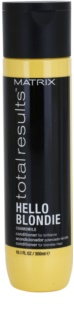Matrix Total Results Hello Blondie Protective Conditioner for Blonde Hair