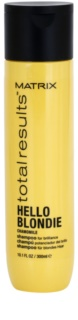 Matrix Total Results Hello Blondie sampon protector pentru par blond