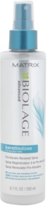 Biolage Advanced Keratindose spray reparador para cabello sensible