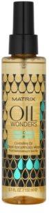 Matrix Oil Wonders Amazonian Murumuru ulei hrănitor stralucire pentru parul ondulat si cret