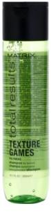 Matrix Total Results Texture Games stiling šampon s polimeri