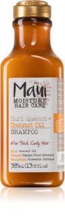 Maui Moisture Curl Quench + Coconut Oil шампунь для кучерявого та хвилястого волосся
