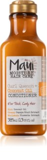 Maui Moisture Curl Quench + Coconut Oil балсам с кокосово масло за чуплива и къдрава коса