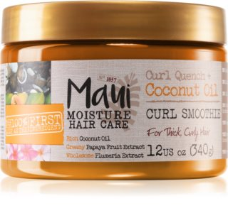 Maui Moisture Curl Quench + Coconut Oil maska za valovitu i kovrčavu kosu