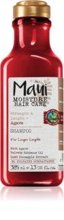 Maui Moisture Strength & Anti-Breakage + Agave posilující šampon pro chemicky ošetřené vlasy