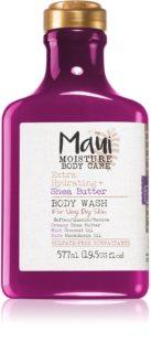 Maui Moisture Extra Hydrating + Shea Butter vlažilen gel za prhanje za zelo suho kožo