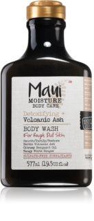 Maui Moisture Detoxifying + Volcanic Ash почистващ душ гел