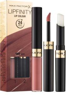 Max Factor Lipfinity Lip Colour Langaanhoudende Lippenstift  met Balsem
