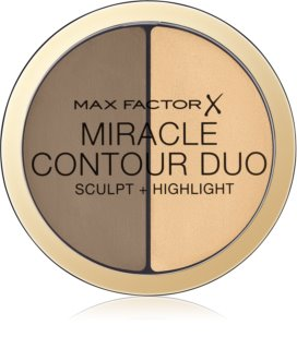 Max Factor Miracle Contour Duo bronzer e illuminante in crema