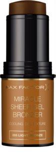 Max Factor Miracle Sheer Gel bronzer gel in Stick