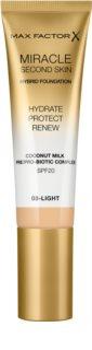 Max Factor Miracle Second Skin hydratační krémový make-up SPF 20