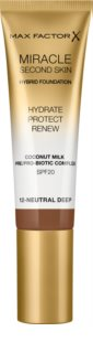 Max Factor Miracle Second Skin hydratačný krémový make-up SPF 20