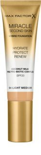 Max Factor Miracle Second Skin Hydrating Cream Foundation SPF 20