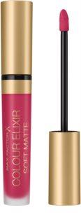 Max Factor Colour Elixir Soft Matte Langaanhoudende Vloeibare Lippenschift