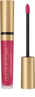 Max Factor Colour Elixir Soft Matte rossetto liquido lunga tenuta