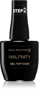 Max Factor Nailfinity Gel Top Coat gélový vrchný lak na nechty