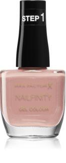 Max Factor Nailfinity Gel Colour Geelikynsilakka Ilman UV / LED Tiivistettä