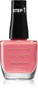 Max Factor Nailfinity Gel Colour gelový lak na nehty bez užití UV/LED lampy