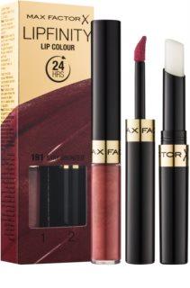 Max Factor Lipfinity Lip Colour Long-Lasting Lipstick With Balm