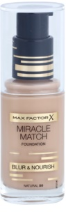 Max Factor Miracle Match Flytande foundation med återfuktande effekt