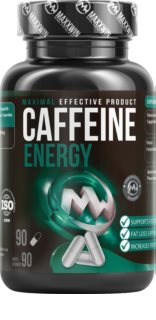 Maxxwin  CAFFEINE ENERGY rostlinné kapsle doplněk stravy  s kofeinem