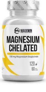 Maxxwin  MAGNESIUM CHELATED  VEGAN doplněk stravy  s vysokým obsahem hořčíku