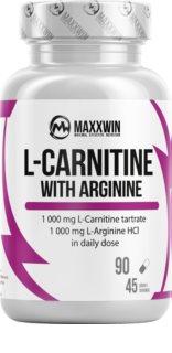 Maxxwin L-CARNITINE ARGININE doplněk stravy pro podporu spalování tuků