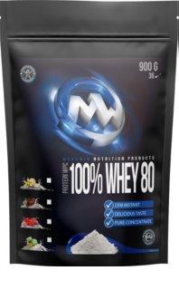 Maxxwin 100% Whey 80 Protein syrovátkový protein v prášku  wild raspberry