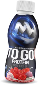Maxxwin  PROTEIN TO GO!  malina syrovátkový protein  raspberry