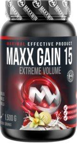 Maxxwin MAXX GAIN 15 vanilka doplněk stravy pro rychlý nárůst svalové hmoty