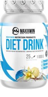 Maxxwin Diet drink vanilka protein na hubnutí příchuť vanilla