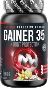 Maxxwin GAINER 35 doplněk stravy pro podporu fyzické výkonnosti  Vanilla
