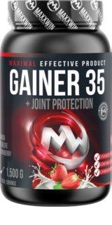 Maxxwin GAINER 35 doplněk stravy pro podporu fyzické výkonnosti  strawberry