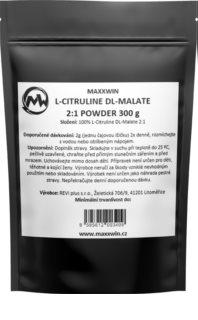 Maxxwin L-CITRULINE DL-MALATE doplněk stravy pro předtréninkovou stimulaci