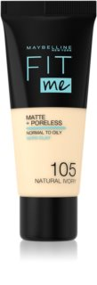 Maybelline Fit Me! Matte+Poreless Mattifierande smink för normal till fet hy